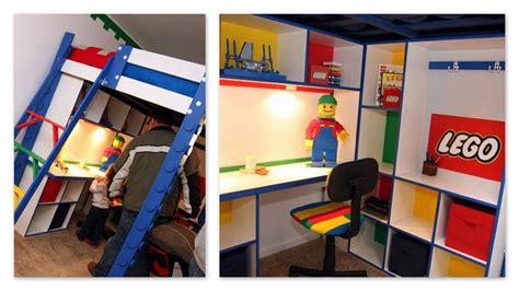 Lego Bunk Bed by 18 Awesome Boys Lego Room Ideas Tip Junkie