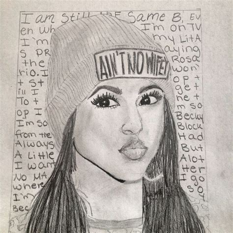 G Sketches by My Drawing Of Becky G Drawing