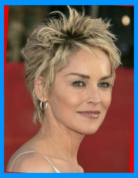 pics of sharon stones hair cut only print out front and back the most awesome sharon stone short hairstyles for your