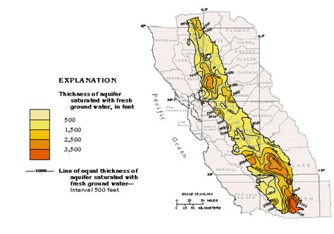 hydrogeology of the kern river alluvial fan