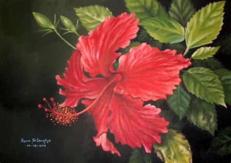 Cat Acrylic Untuk Sepatu Kanvas dunia lukisan javadesindo gallery gt gt lukisan bunga