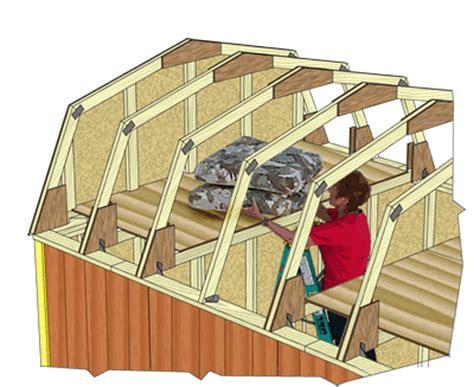 barns meadowbrook  wood storage shed kit