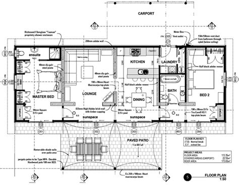 eco home plans solabode 2 bedroom eco home full set house plans luxamcc