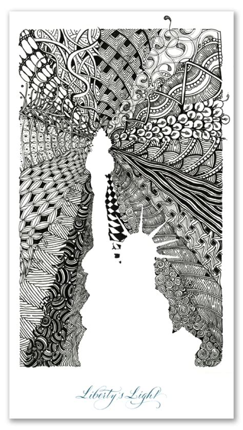 pattern drawing course art lessons creating zentangles