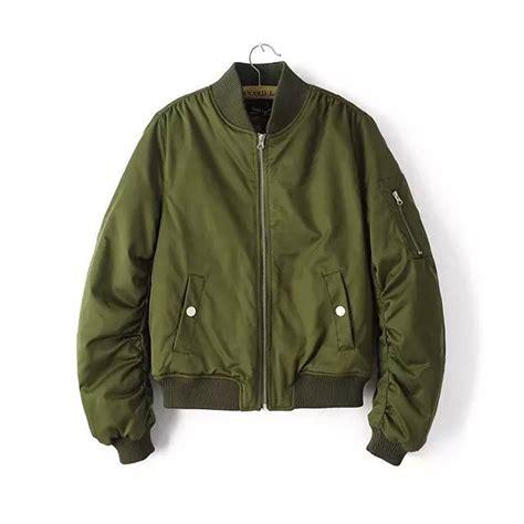 Sale Kent Jaket Bomber Pilot Rider Green Free Bonus 1 aliexpress buy 2017 bomber jacket baseball flight army green sleeve
