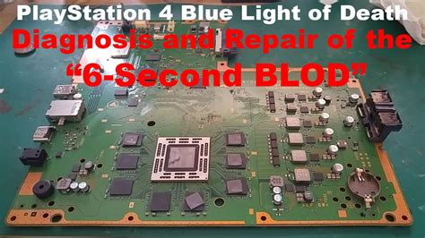 ps4 blue light of death the 6 second ps4 blue light of death blod diagnosis