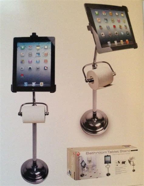 Bathroom Tablet Stand For Ipad Is Better Than The Ipotty