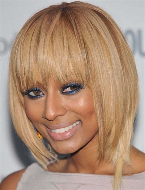 blonde bob celebrity keri hilson blonde bob hairstyle in shoulder cut