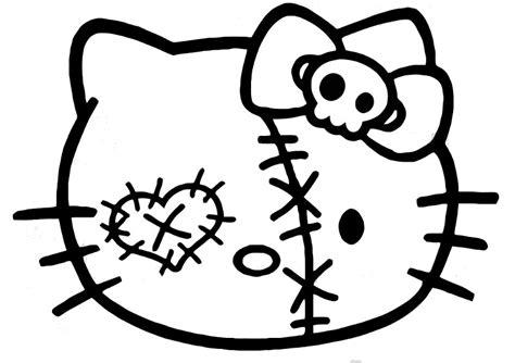 zombie cat coloring page zombie cat clipart clipartxtras