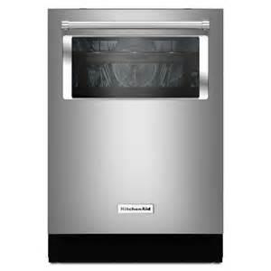 Kitchenaid Dishwasher Free Installation Kitchenaid Kdtm804ess 24 In 44 Decibel Built In Dishwasher