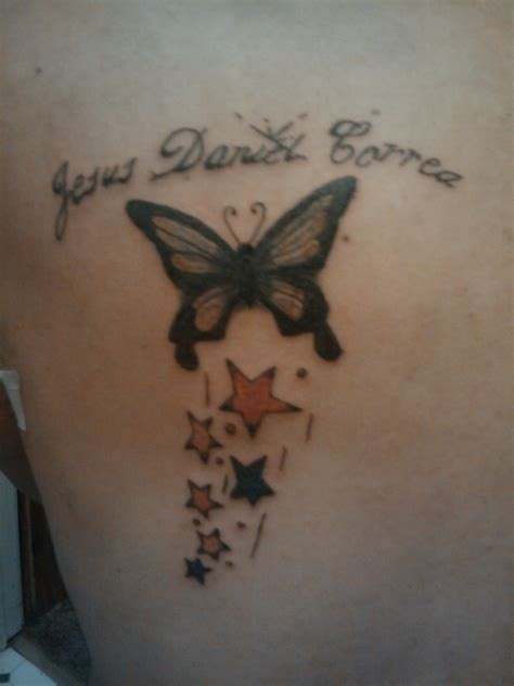 butterfly memorial tattoo butterfly tattoos and designs page 375