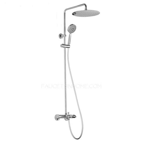 bathroom shower heads and faucets intelligent thermostatic brass bathroom shower heads and