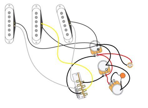 strat wiring mod 2 volumes 1 tone telecaster guitar forum