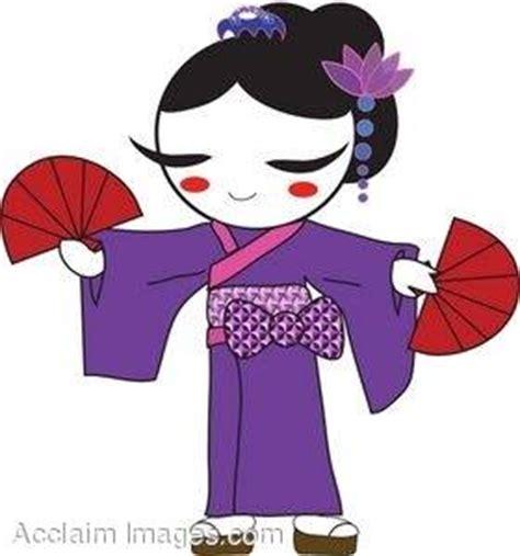 geisha clipart clip in kimono cliparts