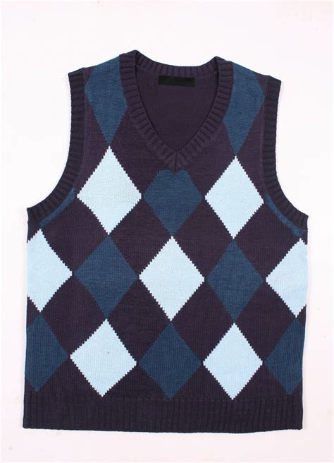 knitting pattern mens sleeveless vest diamond sleeveless sweater knitting pattern for men buy