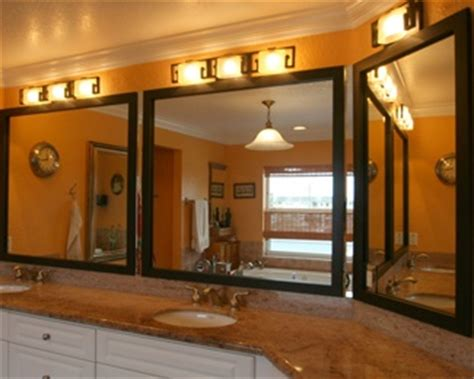 stick on frames for bathroom mirrors peel and stick bathroom mirror frames bathroom makeover