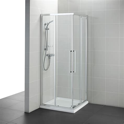 Ideal Standard Kubo 760mm Corner Entry Shower Enclosure Bathroom Shower Cubicle