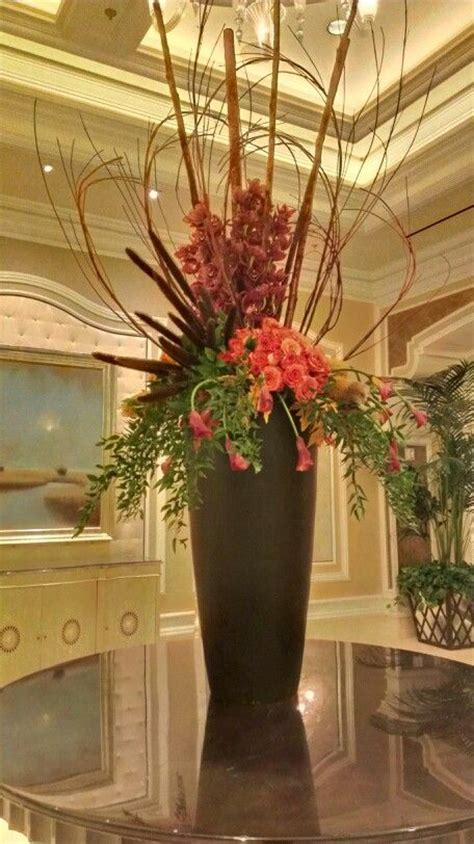 Fall floral arrangement at the Bellagio Hotel Convention