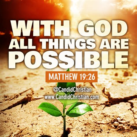 All Things Possible with god all things are possible www imgkid the