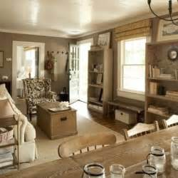 Rustic colors as living room paints modern interior design ideas