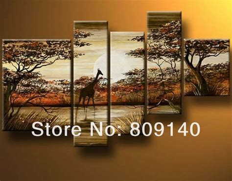 Buy Home Decor South Africa by South Landscape Painting Canvas Color