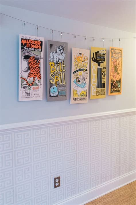 how to hang prints best 25 hanging posters ideas on pinterest poster