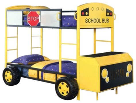 school bus bed furniture of america school bus design twin size bunk