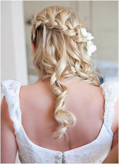 wedding hairstyles half up half down plaits half up half down wedding hairstyles 50 stylish ideas