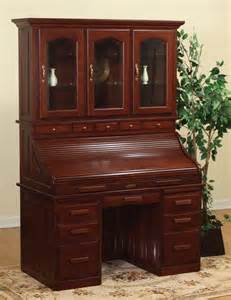 Roll Top Desk With Hutch Amish Roll Top Desk With Hutch Library