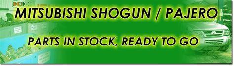 mitsubishi shogun parts warehouse mitsubishi shogun parts equicar 4x4