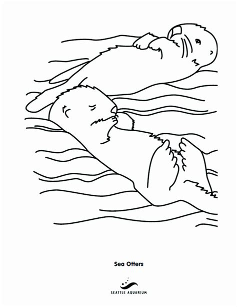 Sea Otter Drawings Az Coloring Pages Sea Otter Coloring Pages