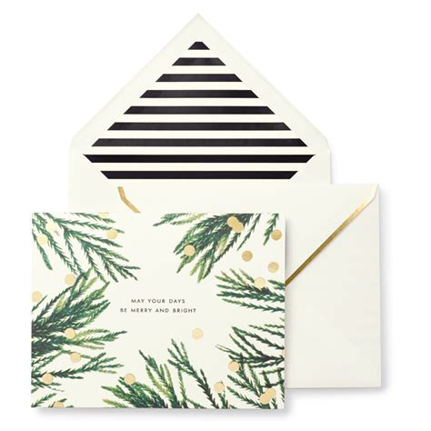 kate spade cards kate spade merry and bright cards by kate spade