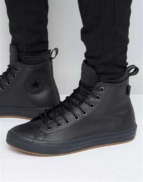 Converse Chuck Tailor Ii High Fullblack converse converse winterised chuck all ii in black 153571c