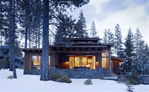 modern cabins modern mountain cabin contemporary comfort beautiful