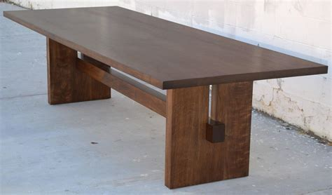 Black Walnut Trestle Table For Sale At 1stdibs