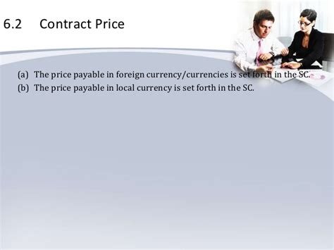 Price Is Lumpy by Contract For Consultancy Services Lump Sum B6 Payments