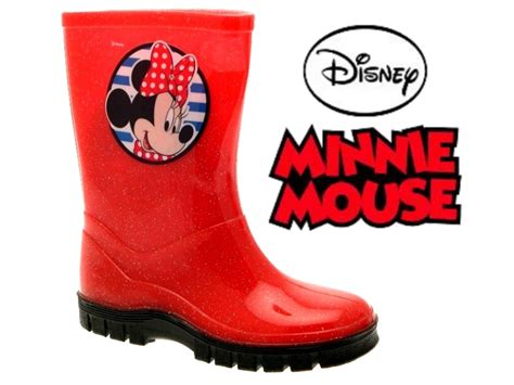 minnie mouse boots disney minnie mouse wellington boots snow