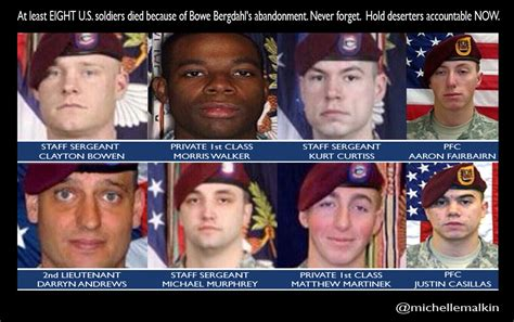 Find Who Died Bowe Bergdahl 8 Who Died Searching For A Deserter Where