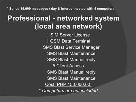 Sms Blast Corporate Presentation - sms blast corporate presentation
