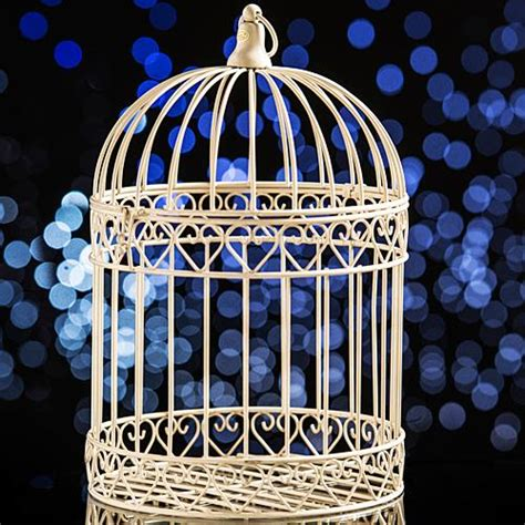 birdcage centerpieces for sale decorative ivory bird cage centerpiece shindigz