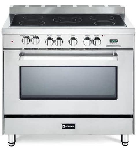 Oven Verona 36 quot electric single oven range verona appliances