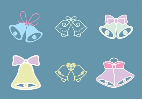Wedding Bell Vector Free by Free Wedding Bells Vector Illustration Free