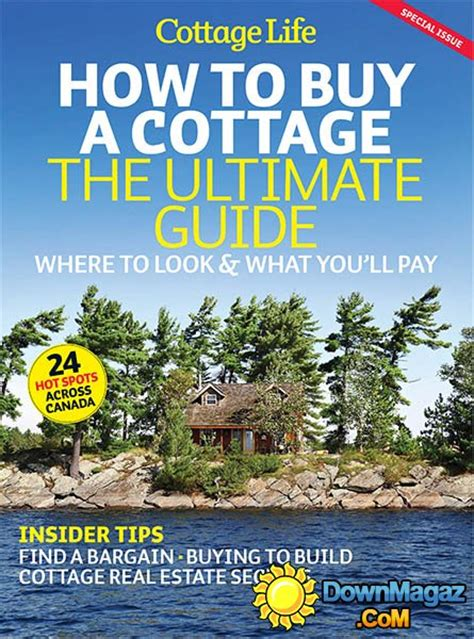 The Cottage Guide by How To Buy A Cottage 187 Pdf Magazines Magazines