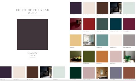 2017 color schemes benjamin moore s color of the year color trends of 2017