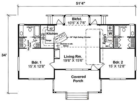 1500 sq ft ranch house plans with garage