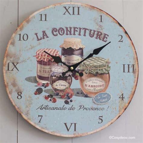 deco horloge murale horloge murale cuisine ambiance cagne r 233 tro boutique deco cosydeco