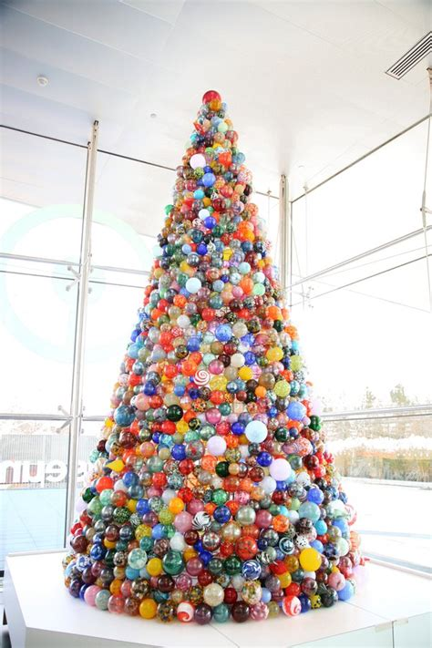 this one of a kind christmas tree is made of 2 000