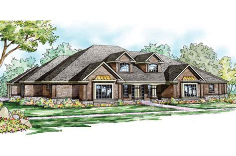Home Design by Traditional House Plans Monticello 30 734 Associated