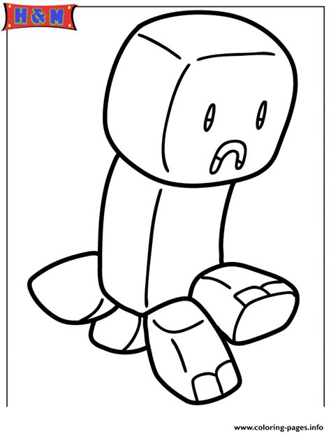 minecraft christmas coloring page minecraft creeper coloring pages printable