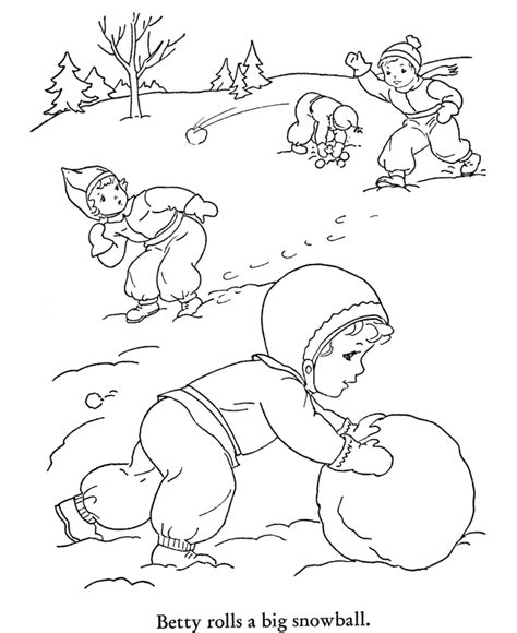 snow coloring pages preschool free printable winter coloring pages for kids
